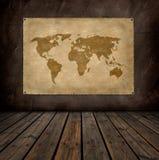 Correspondencia de mundo Foto de archivo libre de regalías