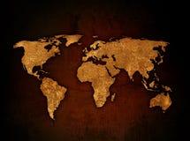 Correspondencia de mundo Fotografía de archivo