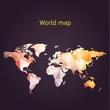 Correspondencia de mundo Fotos de archivo