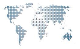 Correspondencia de mundo. Fotografía de archivo libre de regalías