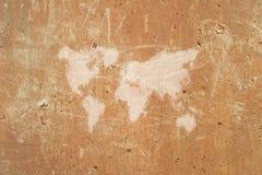 Correspondencia de mundo abstracta Fotografía de archivo libre de regalías