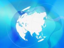 Correspondencia de mundo - correspondencia de Asia