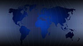 Correspondencia de mundo - correspondencia del mundo Stock de ilustración