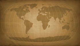 Correspondencia de mundo de la vendimia Fotos de archivo