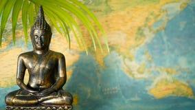 Correspondencia de mundo El viaje explora concepto Fondo abstracto de Asia del viaje con el espacio de la copia metrajes