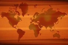 Correspondencia de Orange World Fotos de archivo libres de regalías