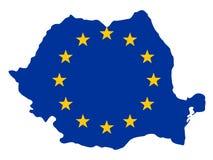 Correspondencia de Rumania stock de ilustración