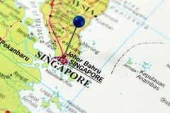 Correspondencia de Singapur Fotos de archivo