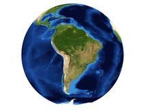 Correspondencia de Suramérica ilustración del vector