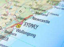 Correspondencia de Sydney imágenes de archivo libres de regalías