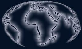 Correspondencia del globo fotos de archivo