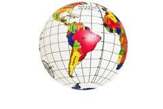 Correspondencia del hemisferio occidental de la tierra Fotos de archivo