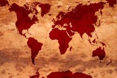 Correspondencia del mundo Imagen de archivo