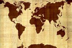 Correspondencia del mundo Stock de ilustración