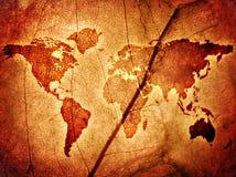 Correspondencia del mundo fotos de archivo libres de regalías