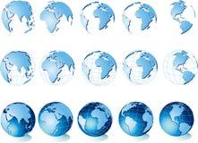 Correspondencia del mundo, globo libre illustration