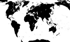 Correspondencia del mundo Ilustración del vector Foto de archivo