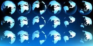 Correspondencia del planeta ilustración del vector