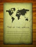 Correspondencia del Viejo Mundo en de madera Fotos de archivo libres de regalías