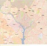 Correspondencia del Washington DC Imagen de archivo