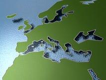 Correspondencia europea Foto de archivo libre de regalías