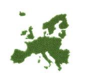 Correspondencia europea formada hierba libre illustration