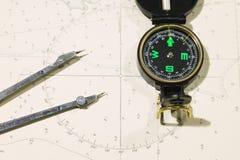 Correspondencia náutica Foto de archivo libre de regalías