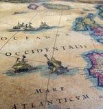 Correspondencia vieja Foto de archivo libre de regalías