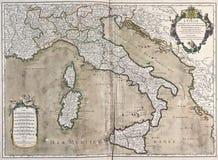 Correspondencia vieja de Italia Imagen de archivo