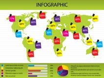 Correspondencia y carta infographic libre illustration