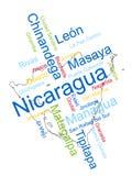 Correspondencia y ciudades de Nicaragua libre illustration