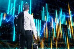 Corretor e conceito da gestão foto de stock royalty free
