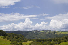 Correze countryside Royalty Free Stock Images