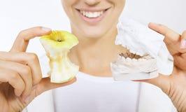 Correzione del morso (modello della protesi dentaria) Fotografia Stock