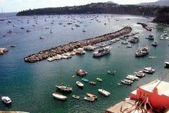 Corricella harbour. Procida corricella harbour Stock Photos