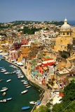 Corricella - Procida, beautiful Royalty Free Stock Photography