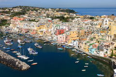 Corricella, Procida Royalty Free Stock Images