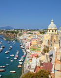 Corricella, Procida Isle, Italy Royalty Free Stock Photography