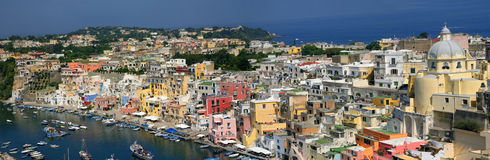 Corricella - Procida, naples - Italy Royalty Free Stock Photos