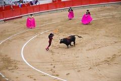 Corrida. Spain, Barcelona. Corrida. One of main arenas Royalty Free Stock Photography
