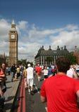 Corrida 2009 de Londres 10K Imagen de archivo libre de regalías