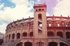 Corrida Arena. Plaza de toro. Palma de Mallorca Stock Photography