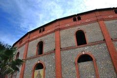 Corrida brick Arena Beziers. France Stock Photography