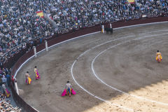 Corrida Bullfigt in Madrid Royalty Free Stock Images