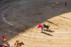Corrida Bullfigt in Madrid Royalty Free Stock Photography