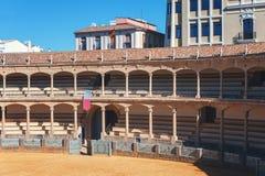 Corrida bullring Plac De Toros zdjęcia royalty free