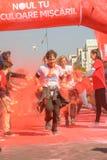 A corrida da cor Foto de Stock Royalty Free