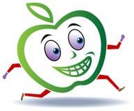 Corrida de Apple ilustração do vetor