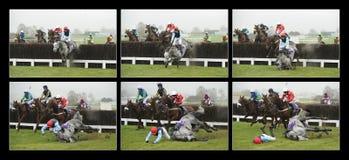 Corrida de cavalos Imagens de Stock