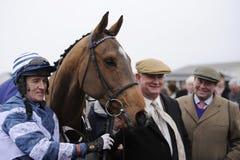 Corrida de cavalos Fotos de Stock Royalty Free